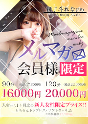 新人メルマガ割引!90分17600円(税込)